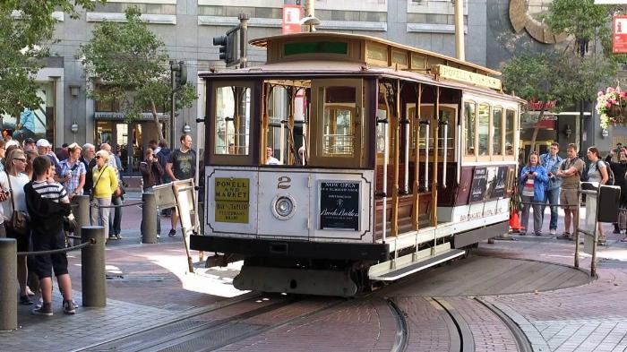Канатные трамвайчики в Сан-Франциско