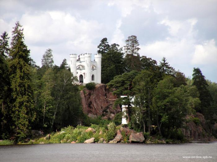 Парк Монрепо - Капелла Людвигштейн