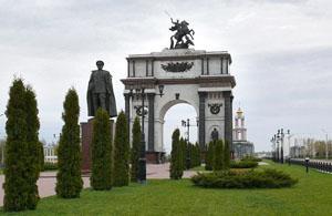 Достопримечательности Курска. Мемеориал Курская Дуга