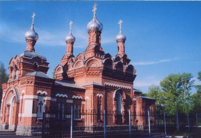 тайга церковь