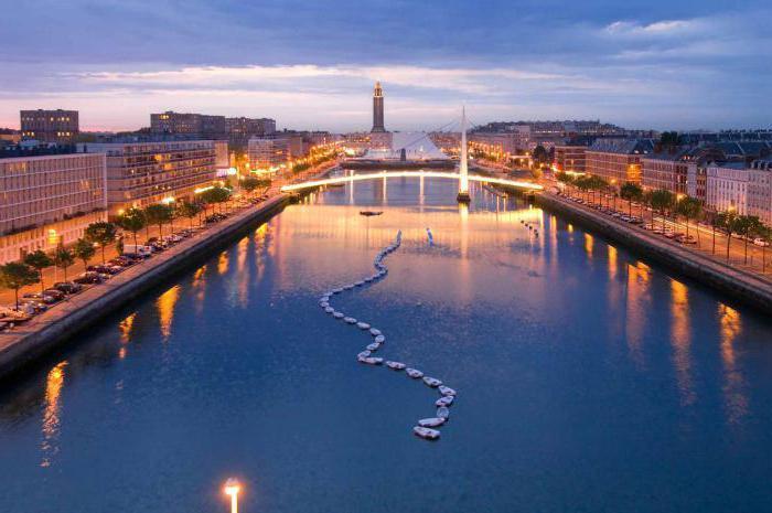Гавр порт во франции