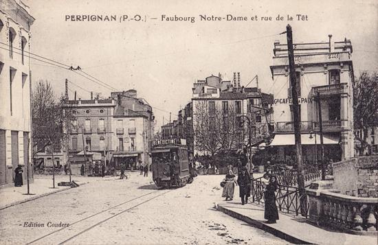 Перпиньян в 1914 году