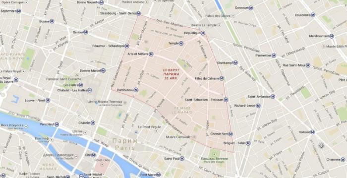 3 округ Парижа – Тампль