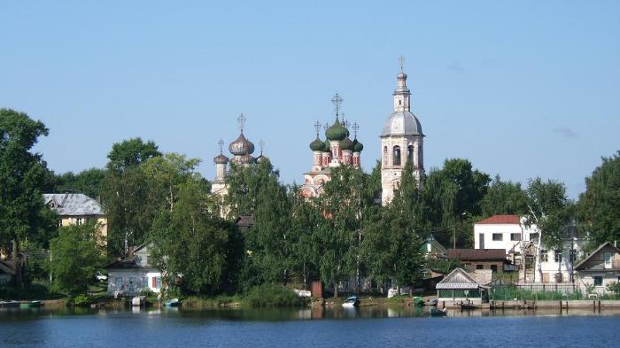 Осташков - провинциальный городок на Селигере
