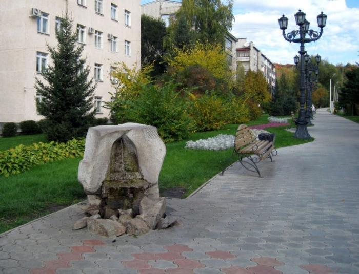 Городской сквер, Горно-Алтайск