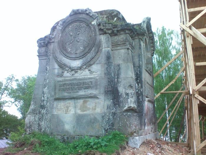 Иоанно-Богословский мужской Череменецкий монастырь руины