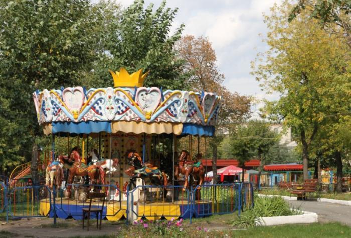 Городской сад, Шадринск