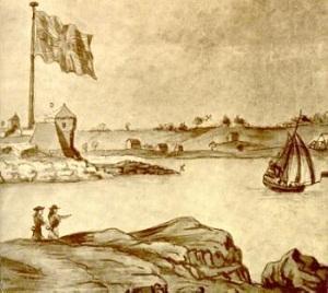 Форт Уильям и Мэри, 1705 год