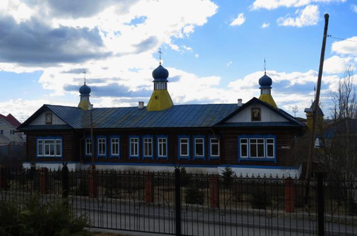 Храм в честь святого мученика Иоанна Воина