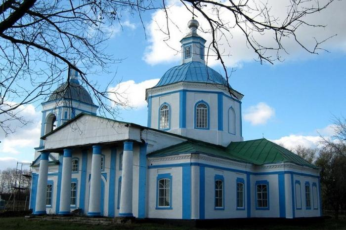 Церковь Троицы, 1881 г., с. Старая Ольшанка