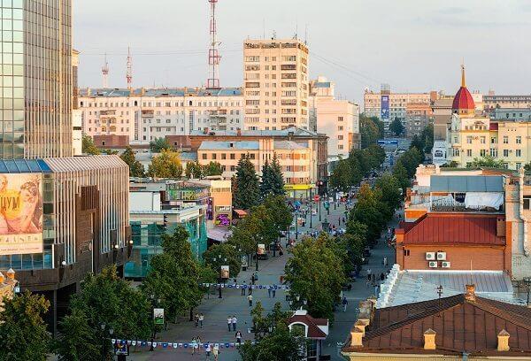 улица Кирова в Челябинске