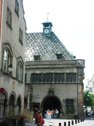 Город Кольмар Франция фото Старой Таможни