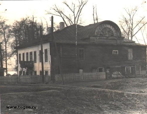 Дом главного инженера Чёрмозского завода (1890), фото 1980-х годов