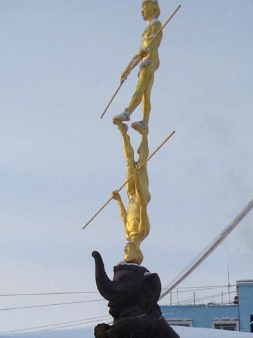 Скульптурная композиция «Цирк»