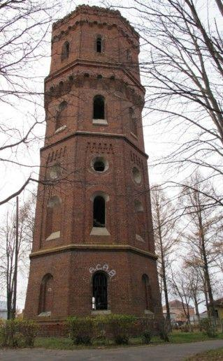 Водонапорная башня в Зарайске фотография