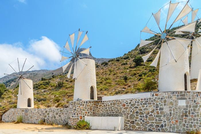 Ветряные мельницы. Миконос, Греция.