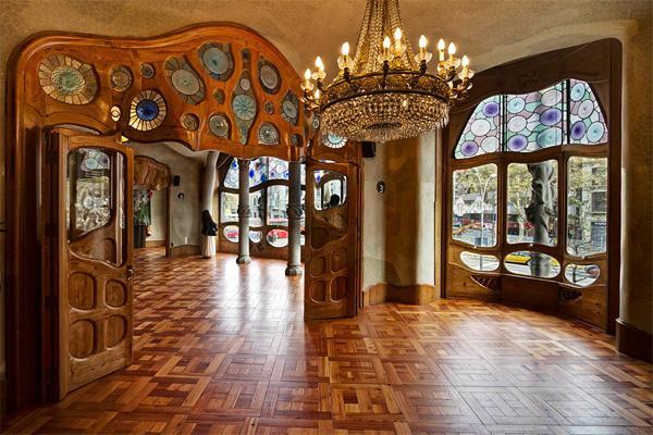 Дом Бальо внутри - непередаваемая красота