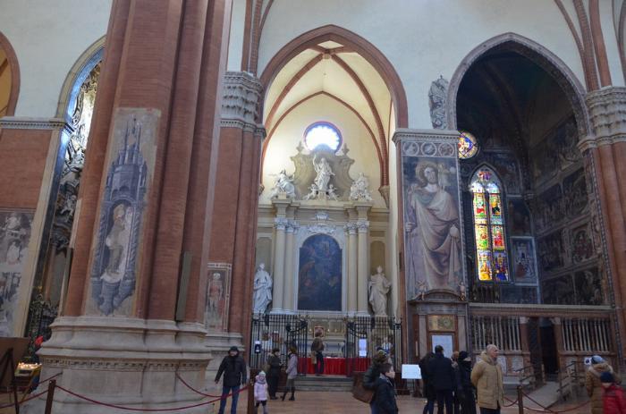 Болонья базилика Святого Петрония