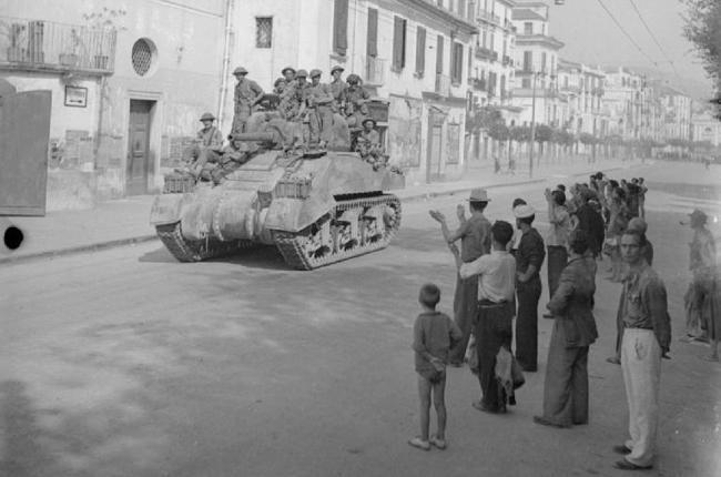 Салерно в 1943 году