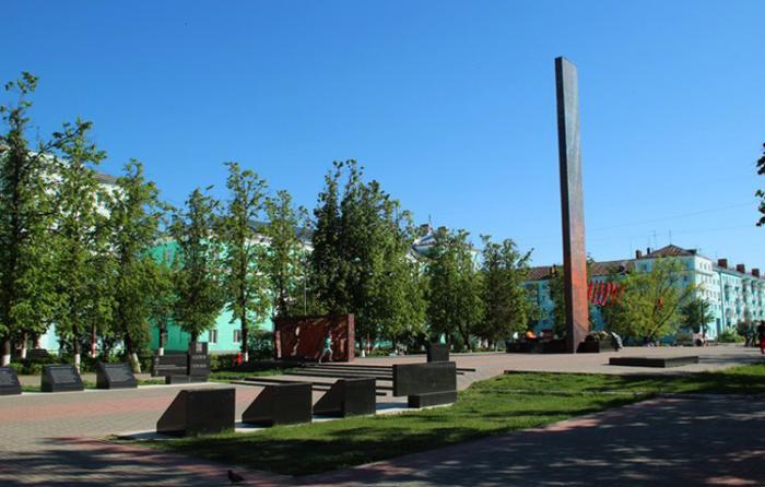Мемориал памяти погибшим героям