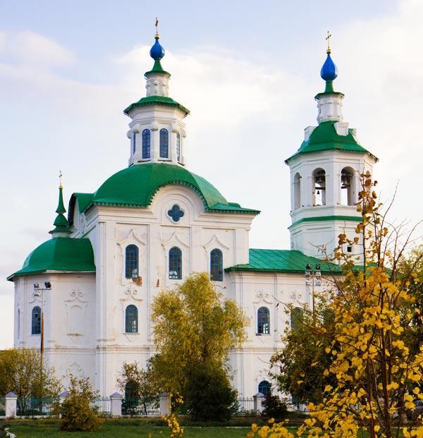 Богоявленский собор в Ишиме