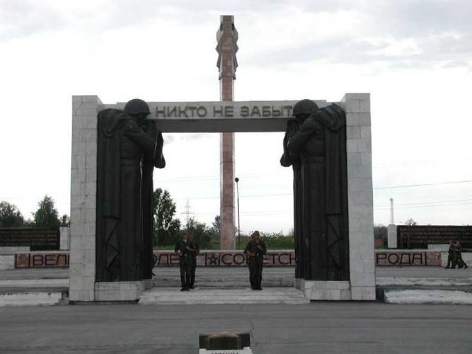 Монумент Славы, Бердск