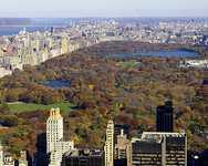 Парк в центре Нью Йорка