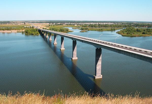 Калач-на-Дону, мост через Дон
