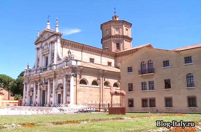 Архитектурное строение Равенна