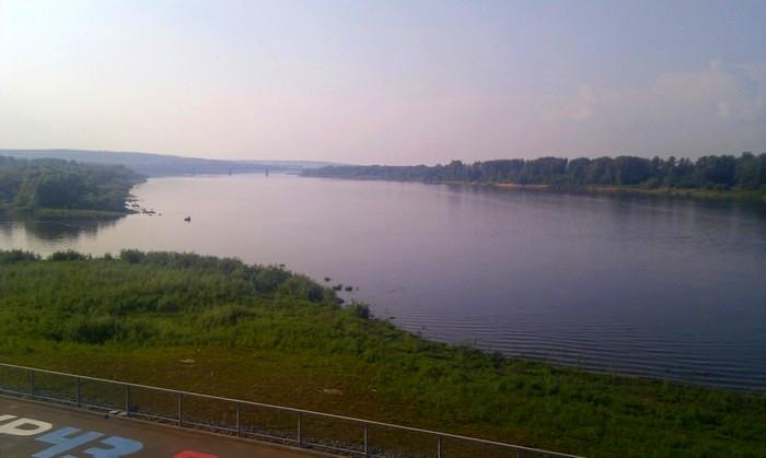 Вятские Поляны река
