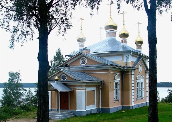 Важеозерский мужской монастырь вид