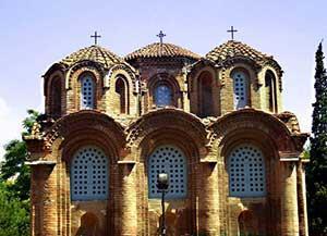 Церковь Панагия Халкеон это как раз то что ще посмотреть в Салониках