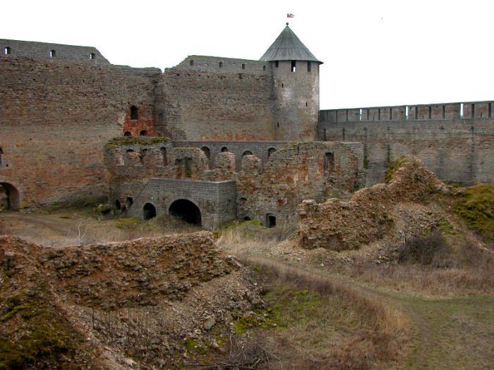 Крепость Ивангорода внутри
