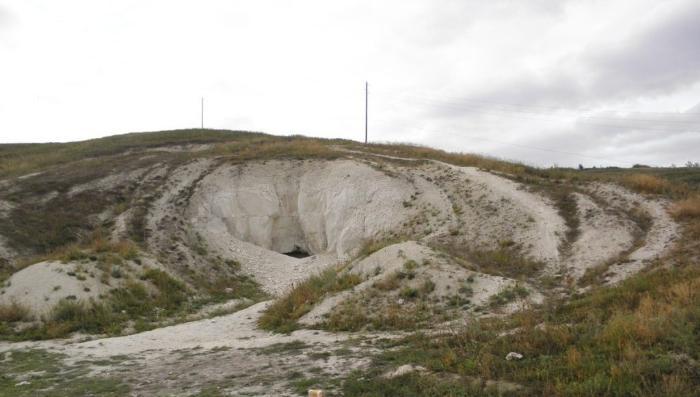 Калачеевская пещера. Воронежская область