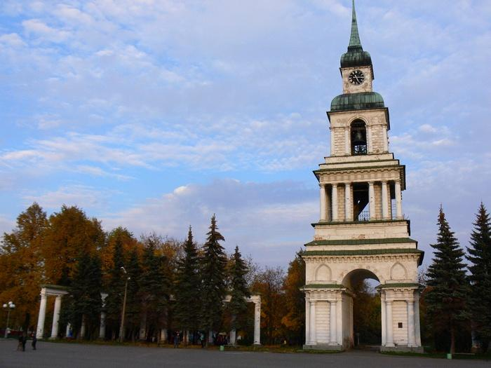 Колокольня Спасо-Преображенской церкви, г.Слободской