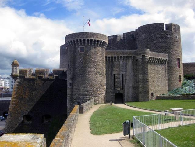 Брест, франция, брестский замок