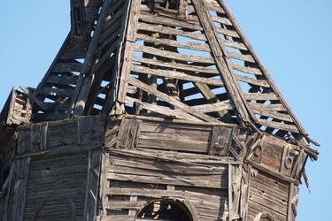 Рязанская «Пизанская башня» в селе Бельское