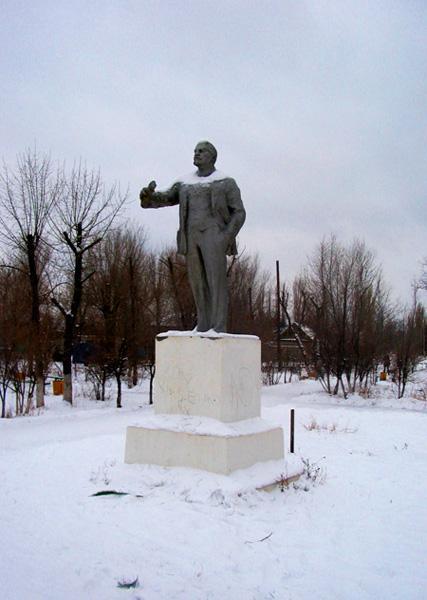 памятник Ленину в Краснослободске
