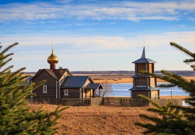 Православный храм им. Андрея Первозванного в Грузино