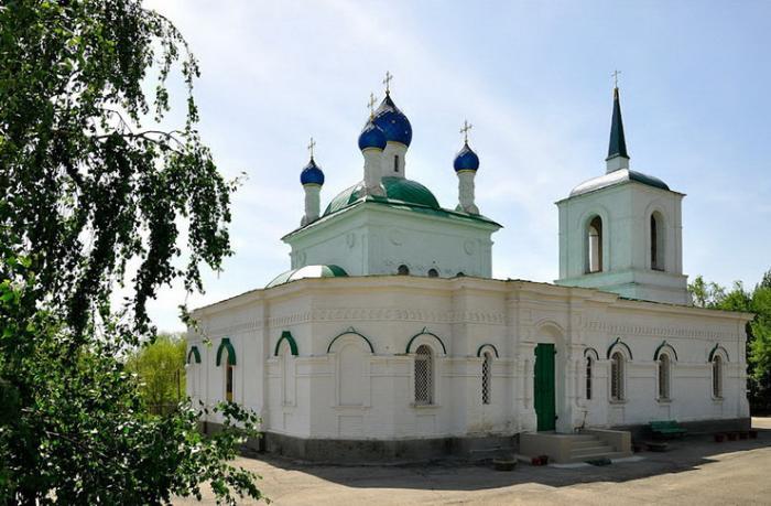 Церковь Покрова Пресвятой Богородицы в Дубовке