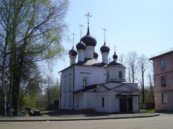 Церковь Казанской иконы Божией Матери, Рыбинск