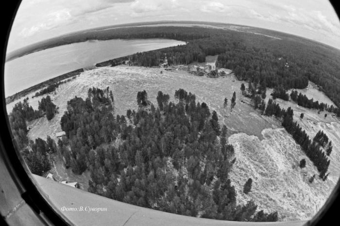 Наводнение 1993 года в Серове. Фото Владимира Суворина