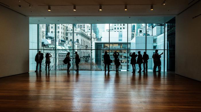 Нью-Йоркский музей современного искусства - Museum of Modern Art или сокращенно MoMA