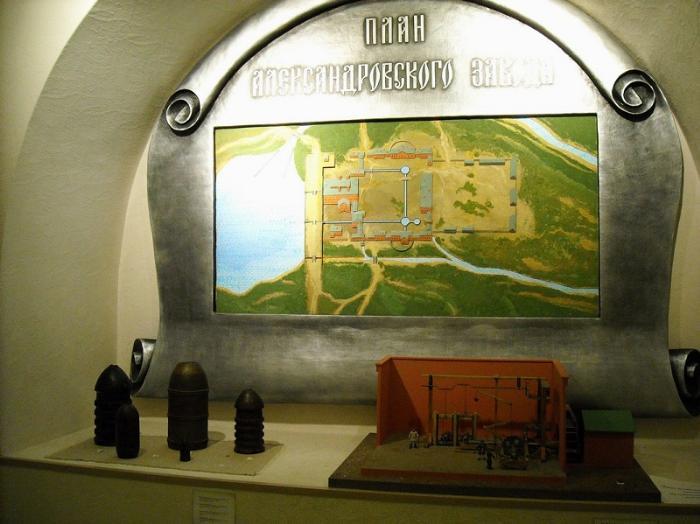 Музей промышленной истории внутри