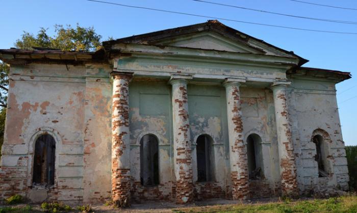 Церковь Успения Богородицы в Маломихайловке