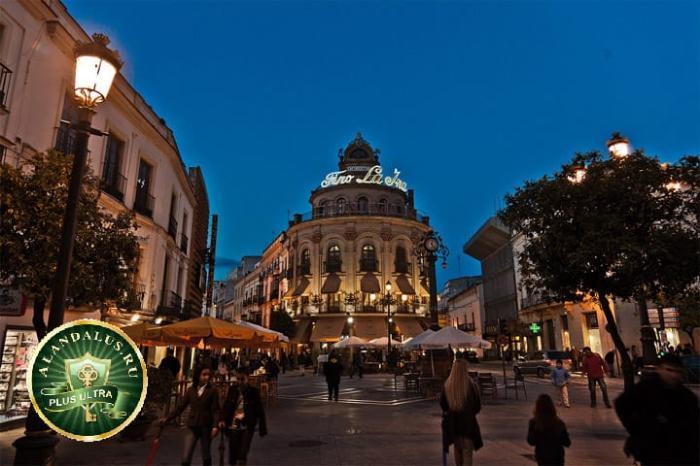 Херес де ла Фронтера: улица в центре города