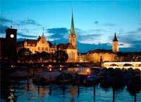Достопримечательности Цюриха в Швейцарии