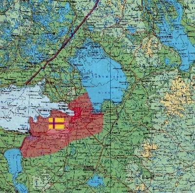 Ингерманландия Ингрия Волосовский район Карта