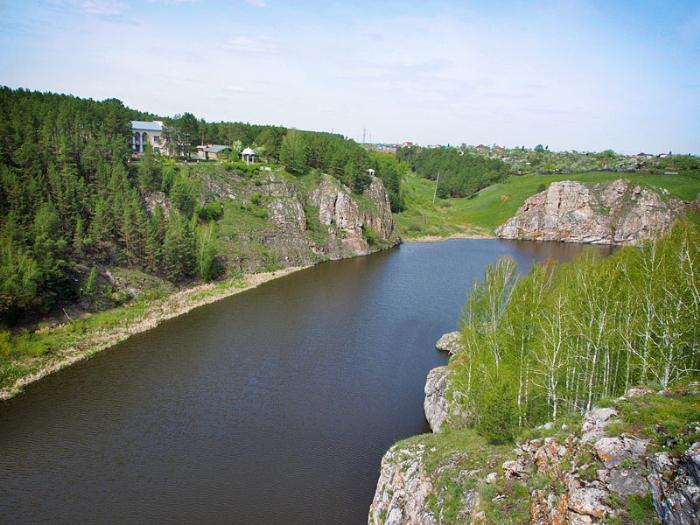 Порог Ревун, Каменск-Уральский