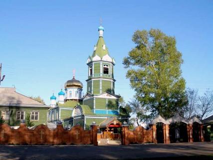 Михайло-Архангельский храм, г. Рубцовск